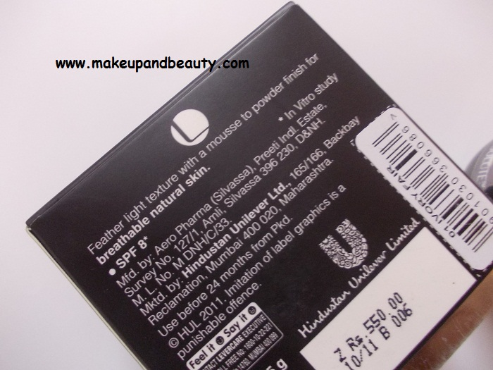 Lakme Absolute Mousse