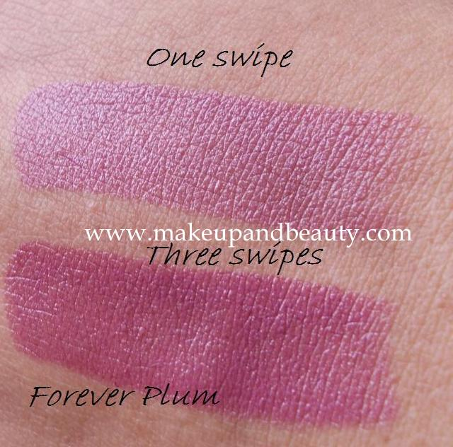 Forever Plum swatches