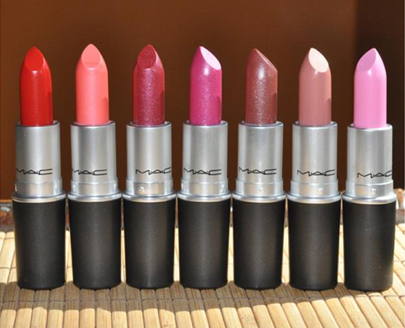 A Guide to MAC Lipstick Finishes