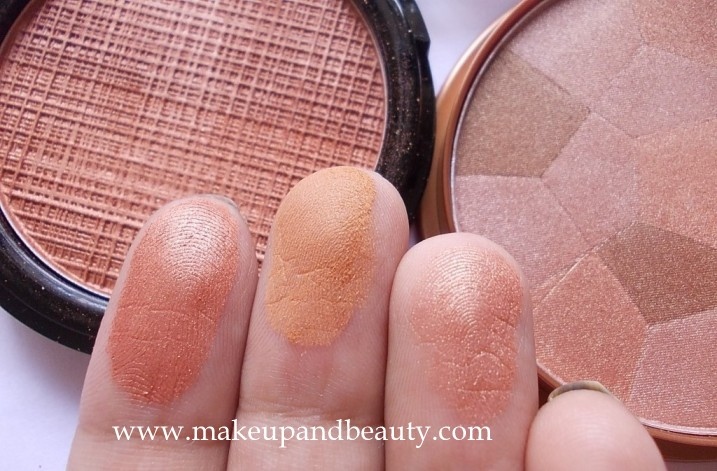 Bronzer mua and lakme