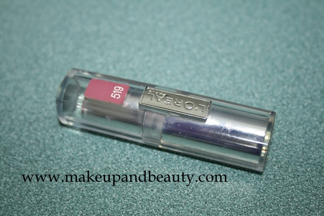 L'oreal Infallible Le Rouge Lipstick in Tender Berry 519