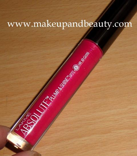 Lakme Absolute Plump & Shine 6 Hour 3D Gloss Candy Shine Review Photos Swatches