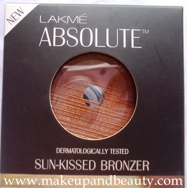 Lakme Absolute Sun Kissed Bronzer Review