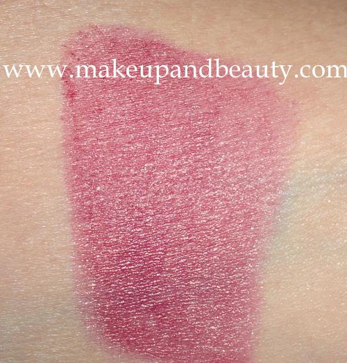 Lakme Absolute Lipstick Swatch