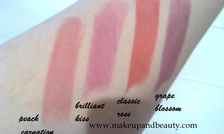 Lakme Absolute Lipstick Swatches