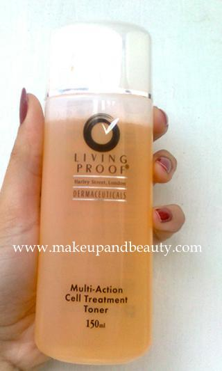 Living Proof Multi Action Cell Treatment Toner Review