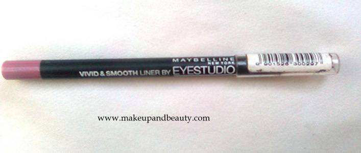 Maybelline Eyestudio Vivid and Smooth Liner Pink Pearl
