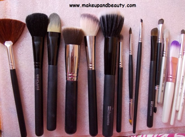 My Makeup Brushes Collection as a beginner