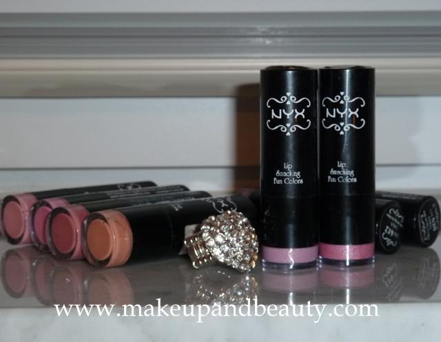 My NYX Lipstick Collection