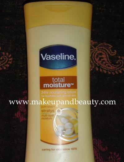 Vaseline Total Moisture 24 Hr Nourishing Lotion