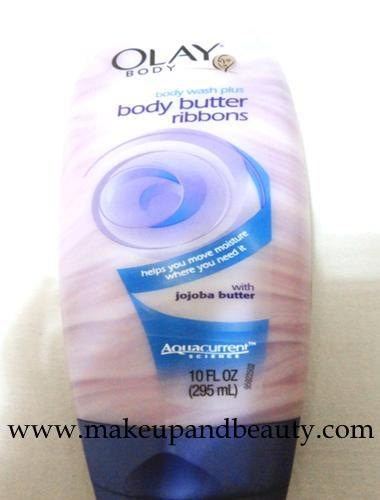 Olay Body Wash Plus Body Butter Ribbons