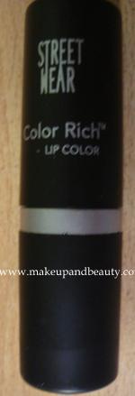 Streetwear color rich lipstick