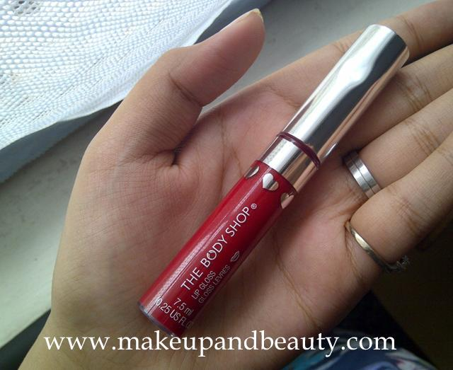 The Body Shop Love Gloss Raspberry Review