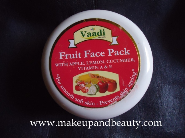 Vaadi Herbals Fruit Face Pack