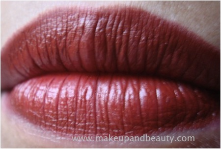 lakme none to five lipstick red hot lips