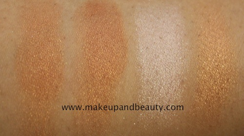 lakme absolute collection bronzer swatches