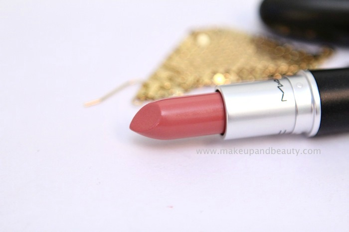 mac fanfare lipstick MAC Fanfare Lipstick Review, Swatch, FOTD
