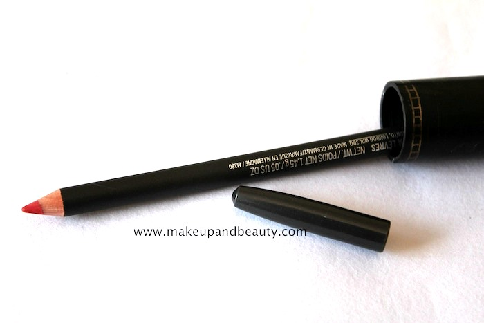mac redd lip pencil review