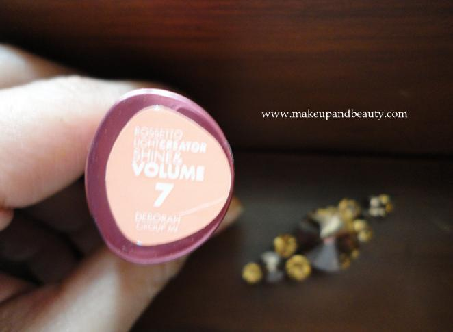 Deborah Milano Light Creation Shine and Volume Lipstick