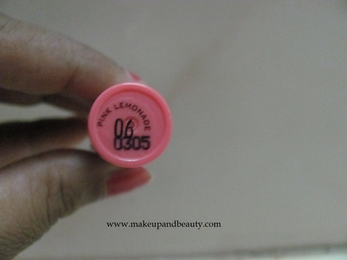 Jordana Easy Shine Glossy Lip Color Pink Lemonade
