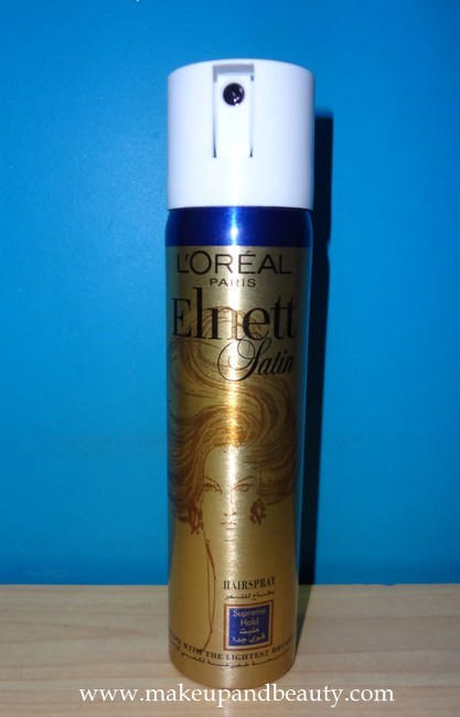L'oreal Paris Elnett Satin Hairspray Supreme Hold