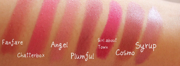 Angel, Plumful, Girl About Town, Cosmo