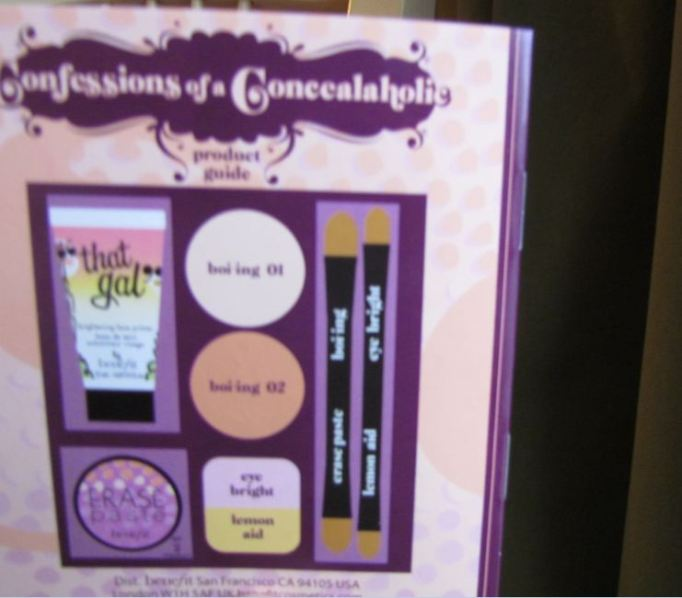 Benefit Confessions of  a Concealaholic