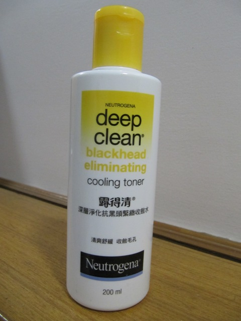 Neutrogena Deep Clean Blackhead Eliminating Cooling Toner