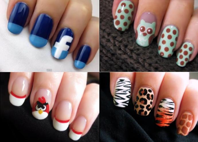 September 2014 Creative Nail Design