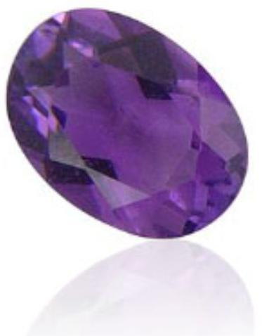 amethyst oval average