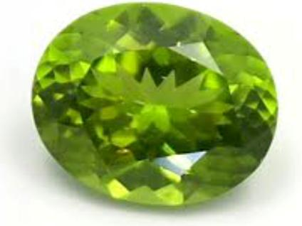 peridot oval good