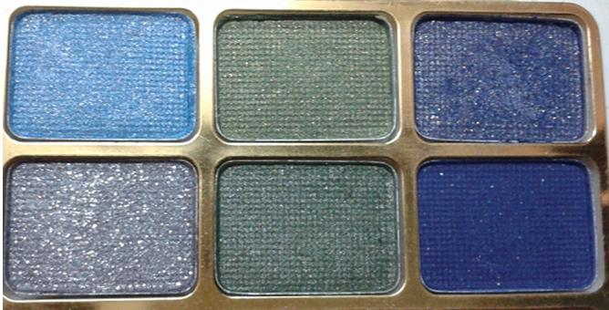 shimmer eyeshadows