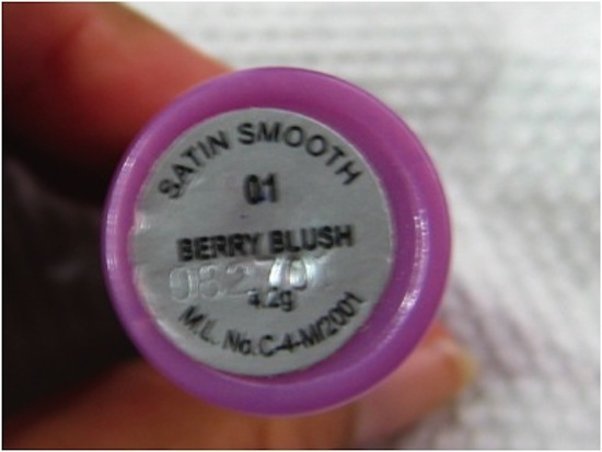 Streetwear Satin Smooth Lipcolor Berry Blush