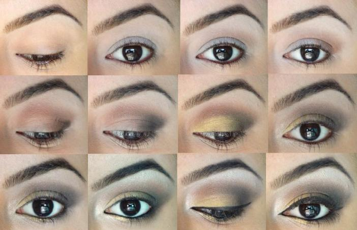 Golden Smokey Eye Photo Tutorial
