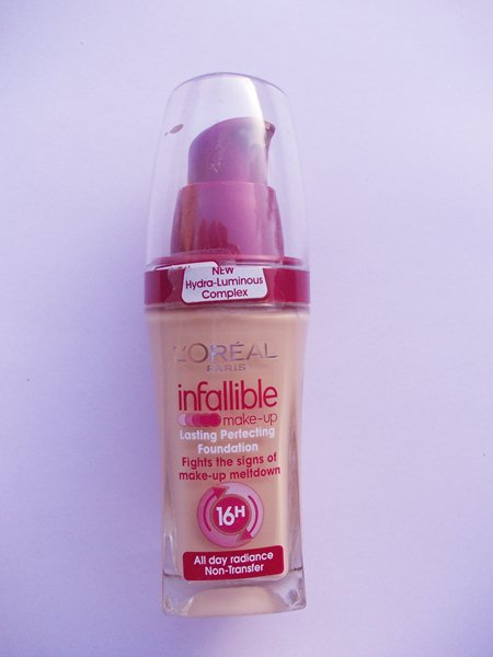 L'Oreal Paris Infallible Lasting Perfecting Foundation