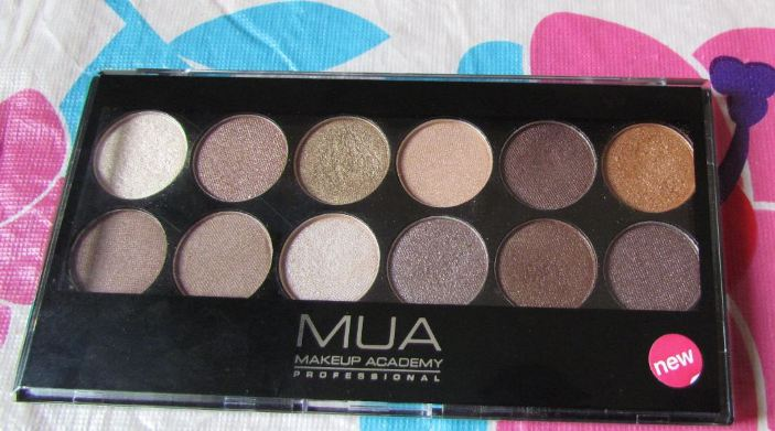 MUA Professional Heaven and Earth Eyeshadow Palette