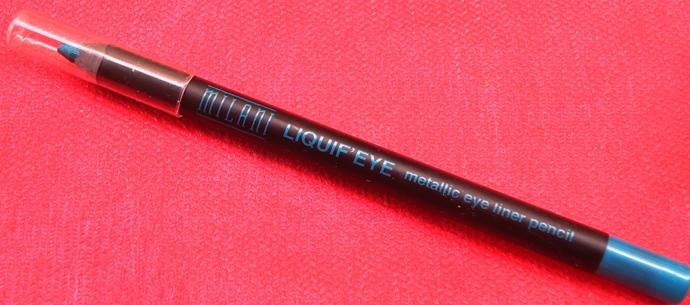 Milani Liquif Eye Metallic Eyeliner Pencil Aqua