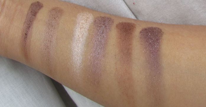 swatch2RowNatLight MUA Professional Heaven and Earth Eyeshadow Palette
