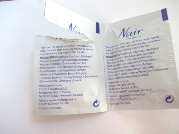 Nair Pretty Mini Wax Strips