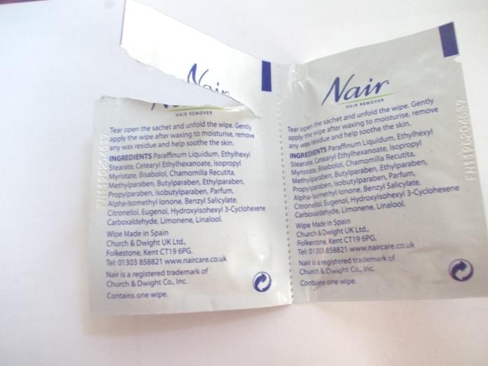 Nair Pretty Mini Wax Strips