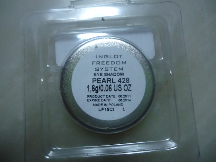 Inglot eyeshadow Pearl 428