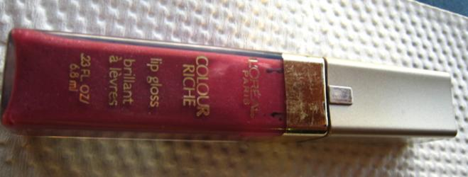 L'Oreal Colour Riche Lip Gloss Rich Plum 720