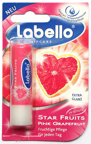 Labello Star Fruits Pink Grapefruit Lip Balm