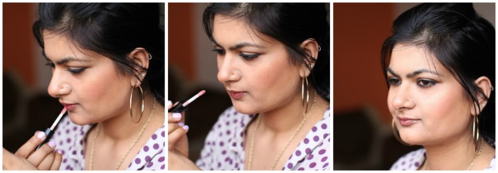 how to get rid of lip gloss stains on clothes