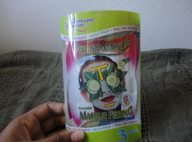 Montagne Jeunesse Anti Stress Cucumber Peel Off Mask