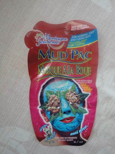 Montagne Jeunesse Anti Stress Dead Sea Mud Pack