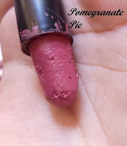 elle 18 lipstick pomegranate pie