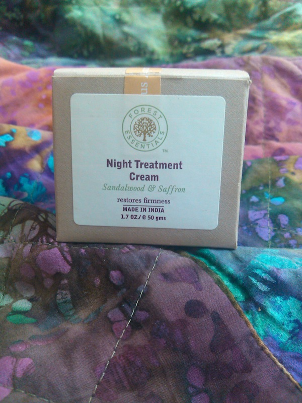 forest essentials night cream