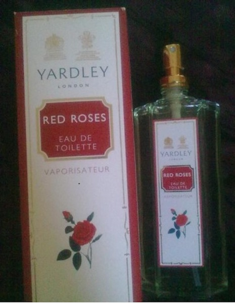 yardley red roses edt