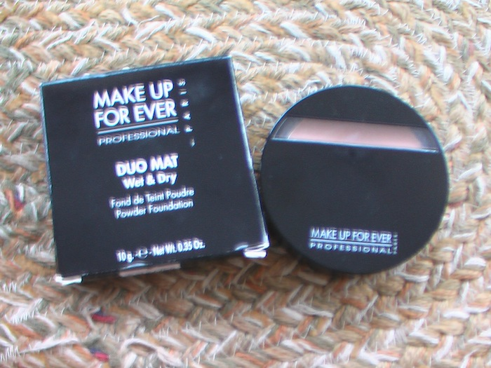 MUFE powder foundation